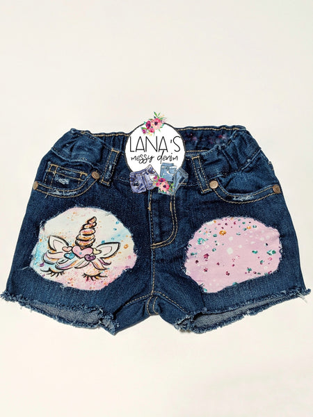 Unicorn Messy Denim