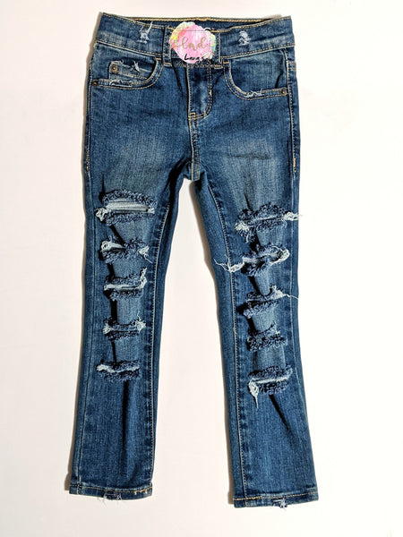 Simply Messy Denim Jeans