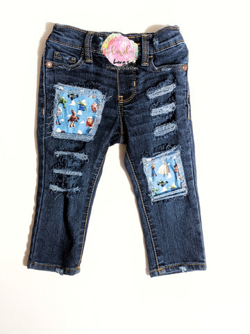 Toy Story Messy Denim