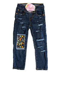 Space Messy Denim Jeans