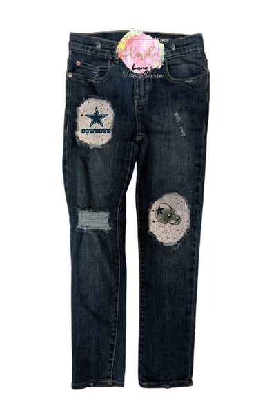 Cowboys Messy Denim
