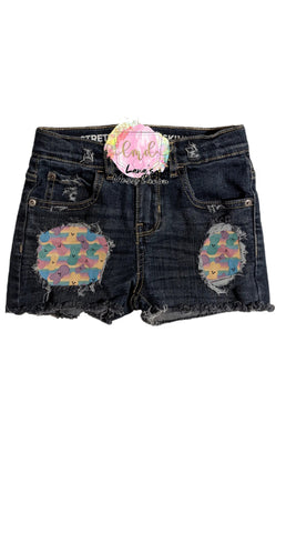 Peeps Messy Denim