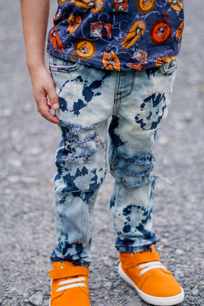 Street Cred Messy Denim Jeans