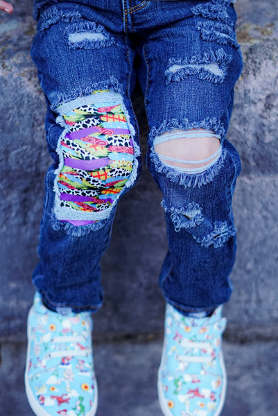 Toy Story Paint Messy Denim