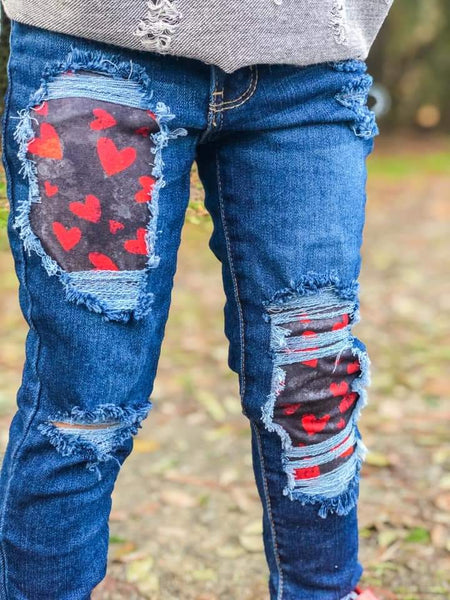 Grunge Love Messy Denim