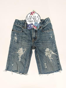 Boy Original Messy Denim Shorts