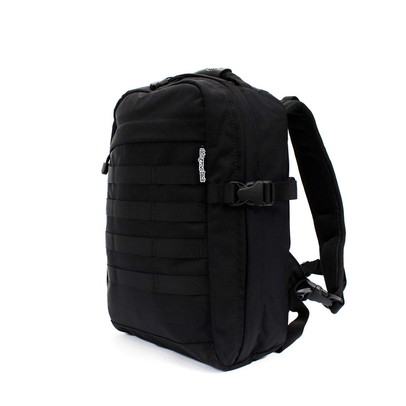 skingrowsback compak 16 litre backpack black