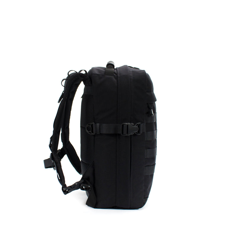 skingrowsback compak 16 litre backpack black left