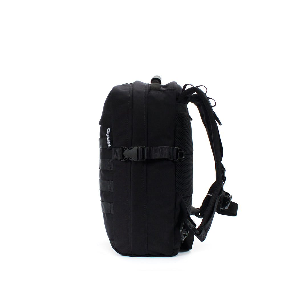 skingrowsback compak 16 litre backpack black right