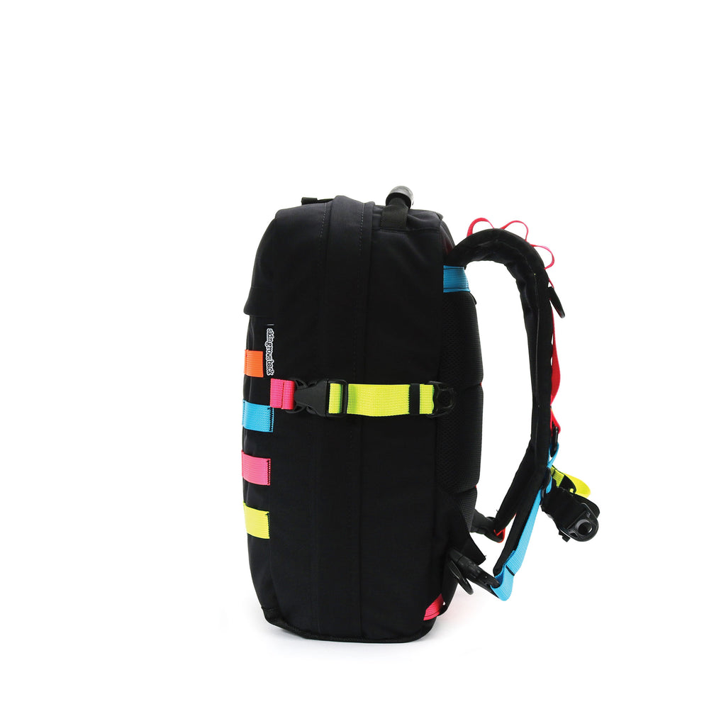 skingrowsback compak 16 litre backpack neon right