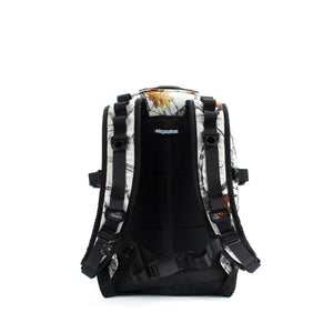 skingrowsback COMPAK 16 litre Backpack Snowfall back