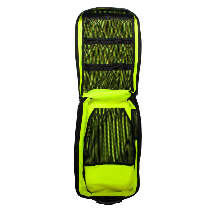 skingrowsback pak30 30 litre backpack neon yellow interior