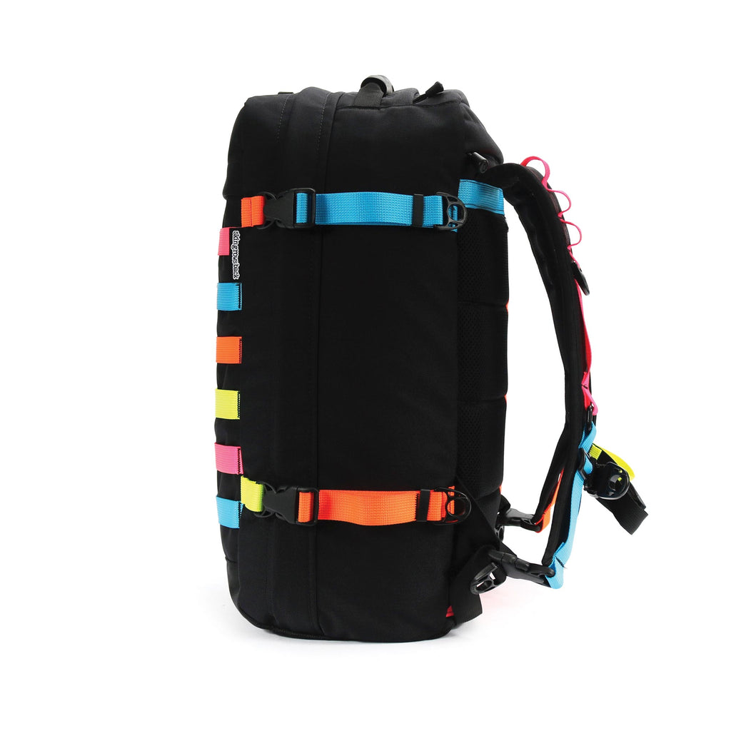 skingrowsback PAK30 30 litre backpack Neon right