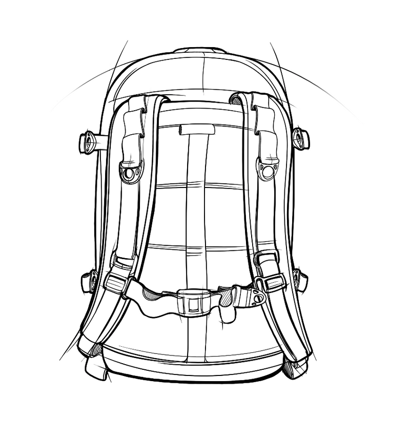 skingrowsback pak30 30 litre backpack custom blank
