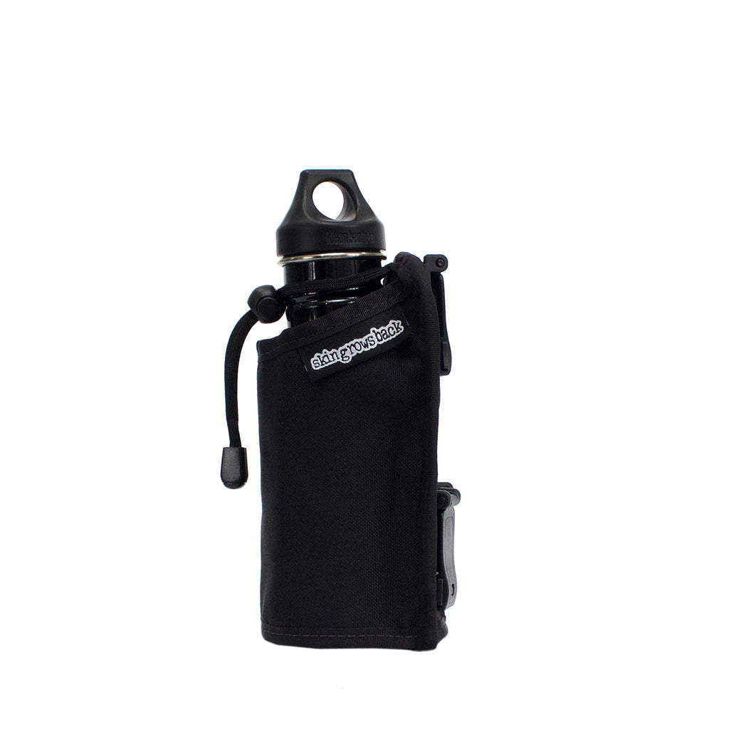 skingrowsback caddy modular bottle holder black side