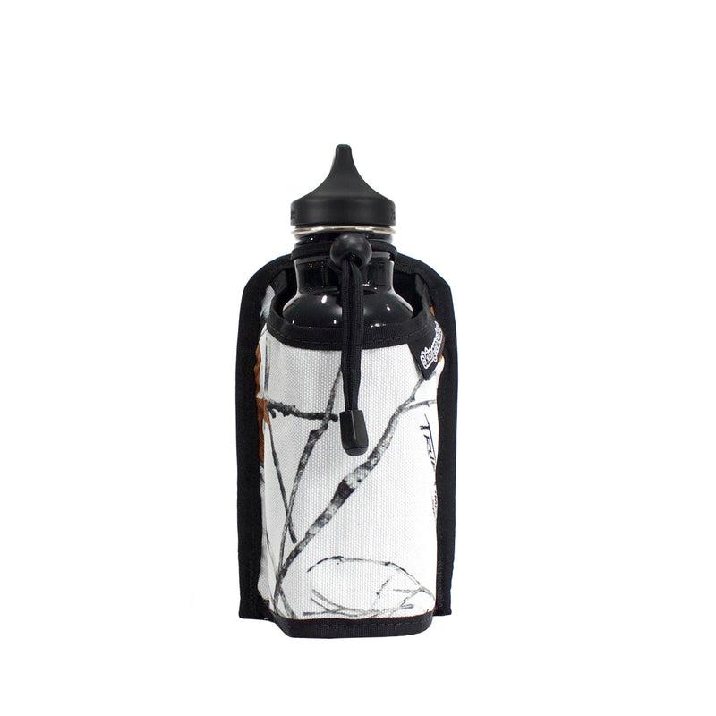 skingrowsback caddy modular bottle holder snowfall front