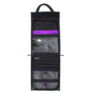 skingrowsback velodrome chainring bag track cycling purple open