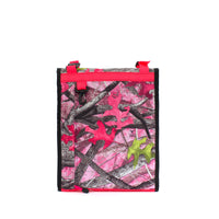 skingrowsback velodrome chainring bag track cycling sassy b pink back