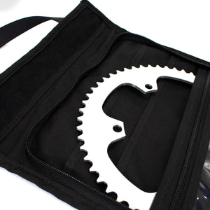 skingrowsback velodrome chainring bag track cycling royal blue 56T