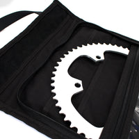 skingrowsback velodrome chainring bag track cycling yellow 56T