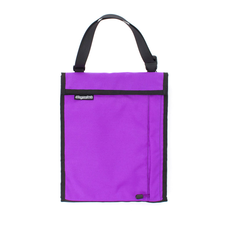 skingrowsback velodrome chainring bag track cycling purple