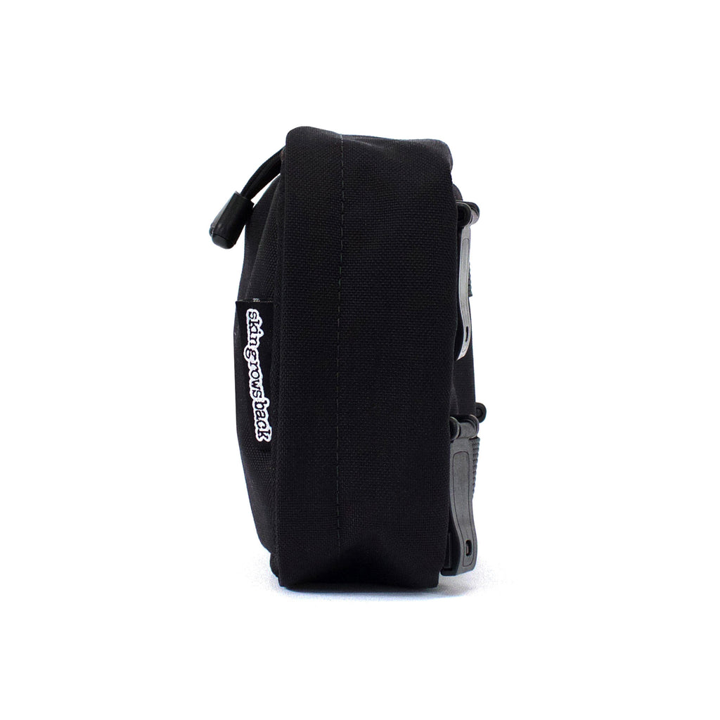 skingrowsback cube mid modular pouch black side