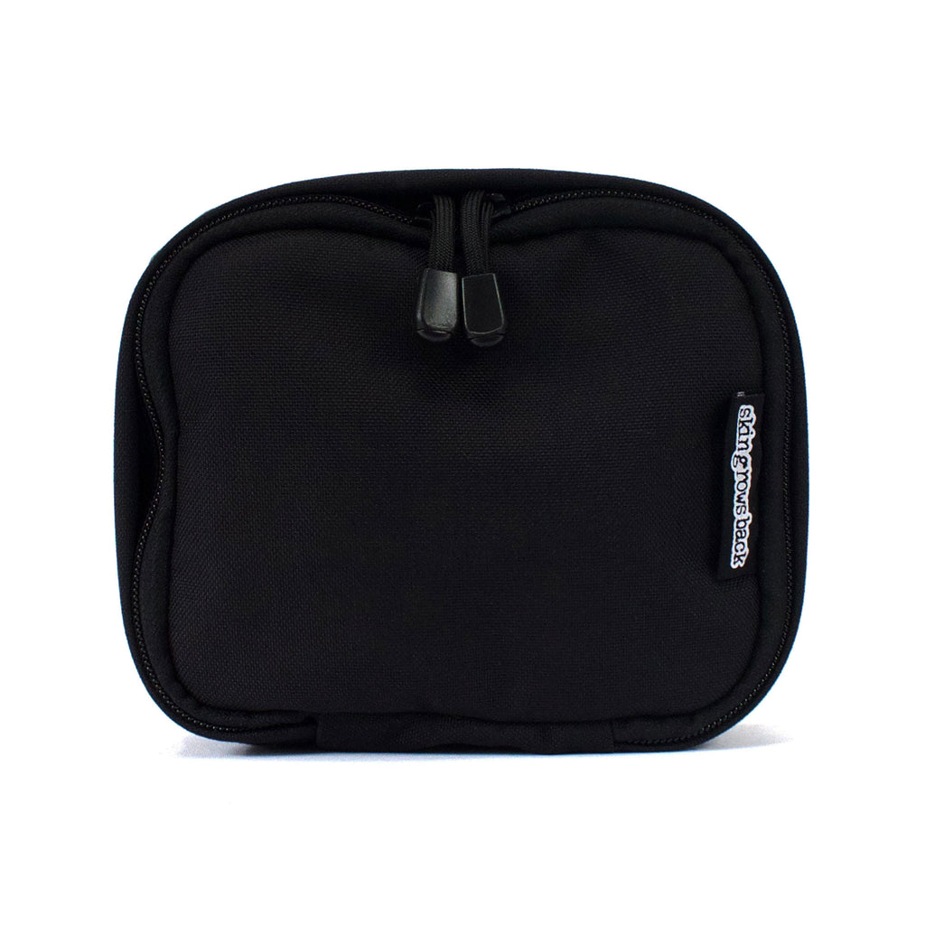 skingrowsback cube mid modular pouch black