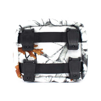 skingrowsback cube mid modular pouch snowfall clips