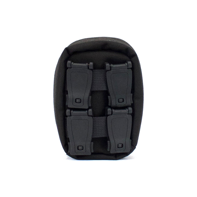 skingrowsback cube mini modular pouch back black