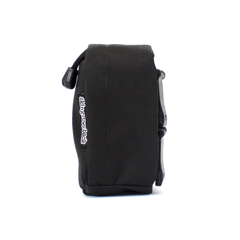 skingrowsback cube mini modular pouch side black