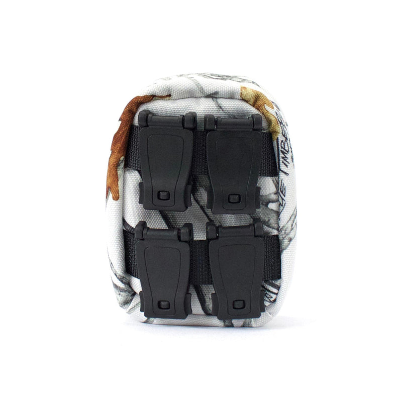skingrowsback cube mini modular pouch snowfall back