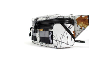 skingrowsback b double bum bag snowfall side