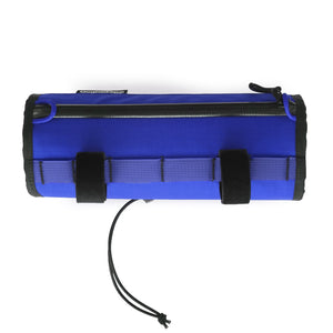 skingrowsback little lunch cycling handlebar bag royal blue