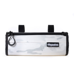 skingrowsback little lunch handlebar bag multicam alpine