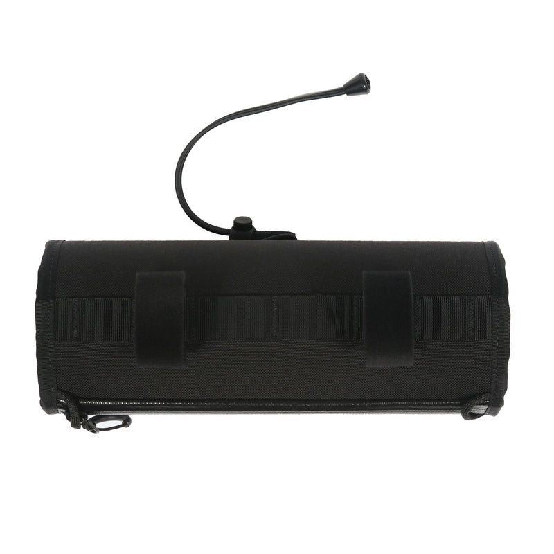 skingrowsback little lunch cycling handlebar bag black