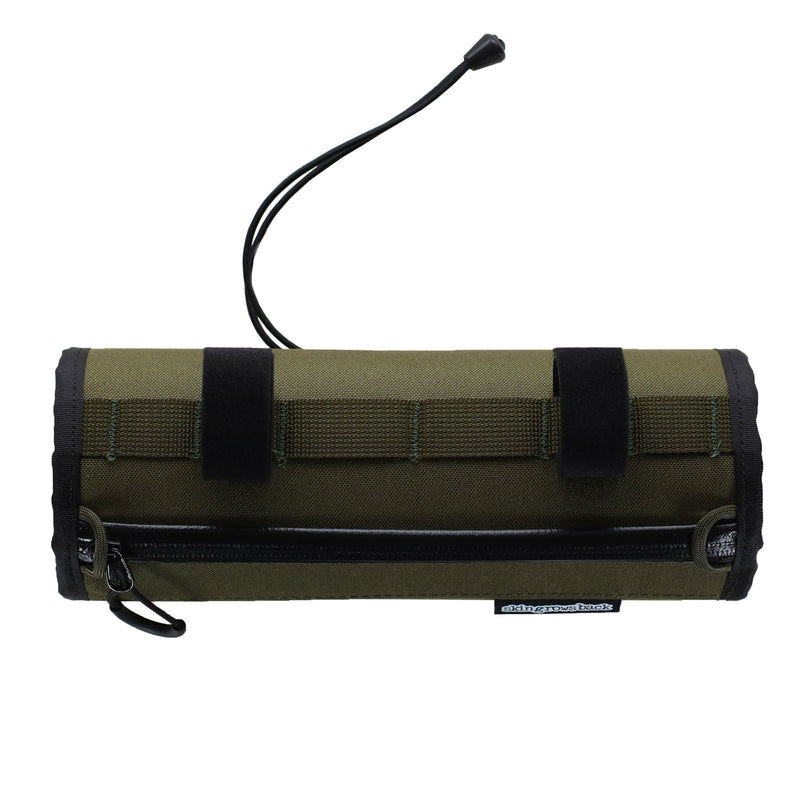 skingrowsback little lunch cycling handlebar bag olive