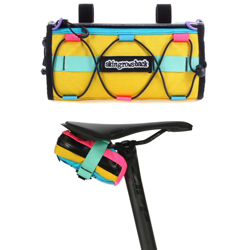 skingrowsback lunch box handlebar bag plan b saddle bag combo cycling kawaii