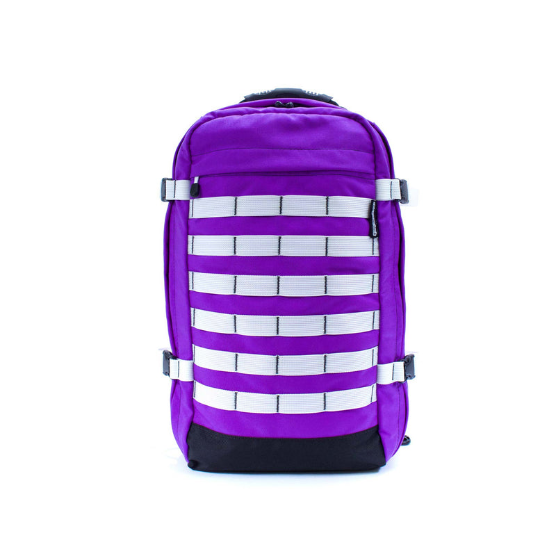 skingrowsback pak30 30 litre backpack custom purple rain front