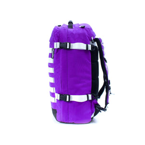 skingrowsback pak30 30 litre backpack custom purple rain right