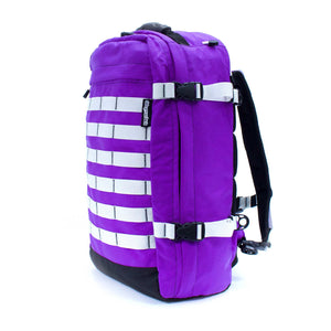 skingrowsback pak30 30 litre backpack custom purple rain