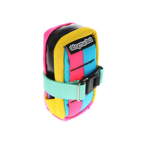 skingrowsback Plan B cycling saddle bag Kawaii view