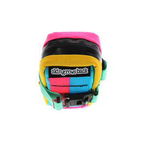 skingrowsback Plan B cycling saddle bag Kawaii rear view