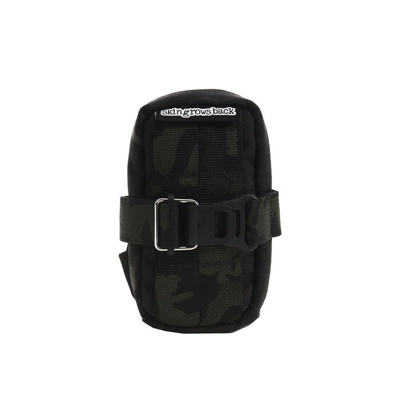 skingrowsback plan b cycling saddle bag MultiCam Black