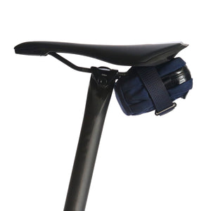 skingrowsback plan b micron cycling saddle bag navy nds