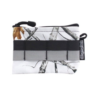 skingrowsback pocket mid modular pouch snowfall