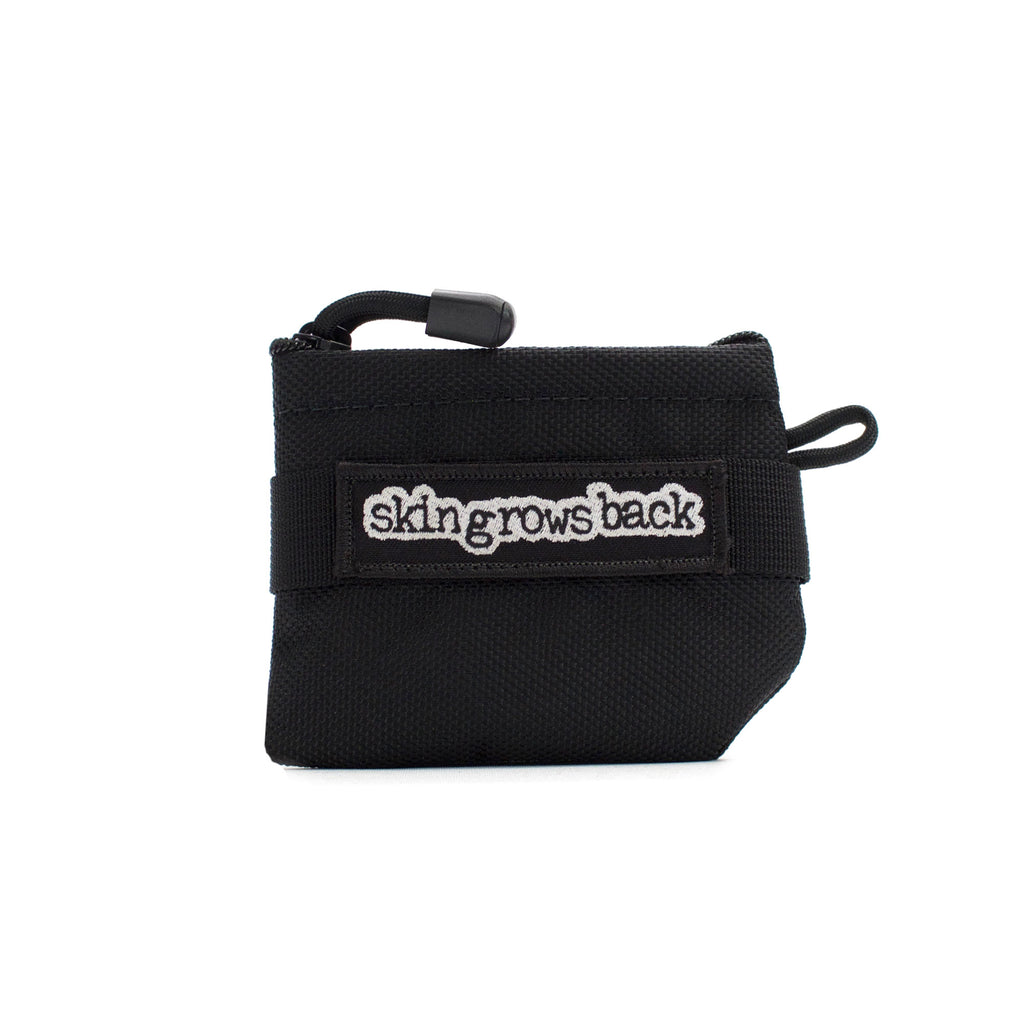 skingrowsback pocket mini modular pouch black