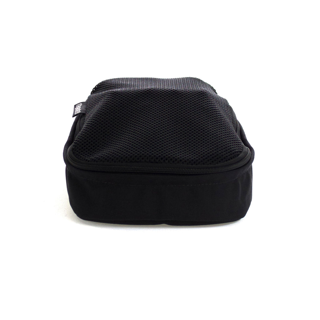skingrowsback vento shoe bag black front