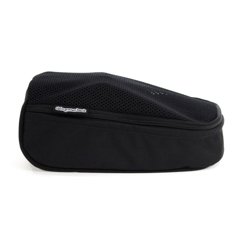 skingrowsback vento shoe bag black logo