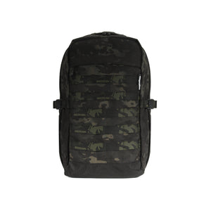 skingrowsback MIDPAK 23 litre backpack multicam black front