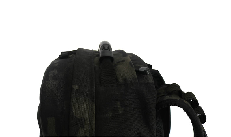 skingrowsback MIDPAK 23 litre backpack multicam black handle